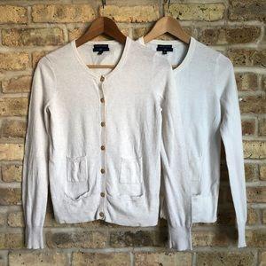 GAP Bundle of 2 Cotton / Cashmere Cardigans